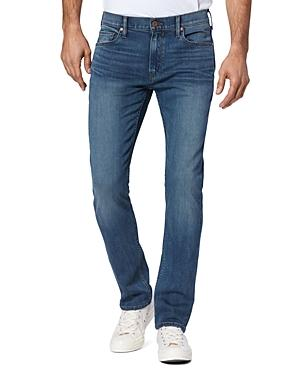 Paige Federal Straight Slim Fit Jeans In Brent