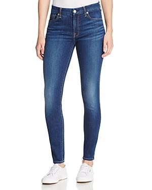 7 For All Mankind B(air) Skinny Ankle Jeans In Duchess