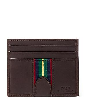 Polo Ralph Lauren Grosgrain Striped Card Case