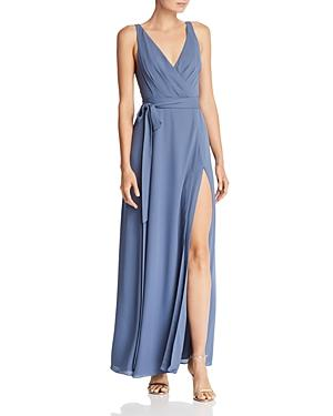 Fame And Partners Dinah Wrap Gown