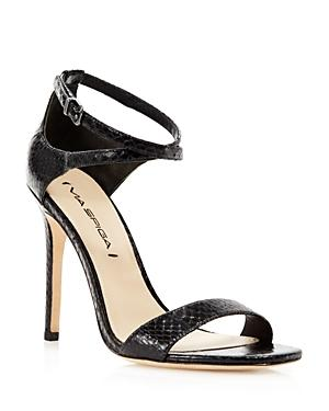 Via Spiga Sandals - Tiara Snakeskin High Heel