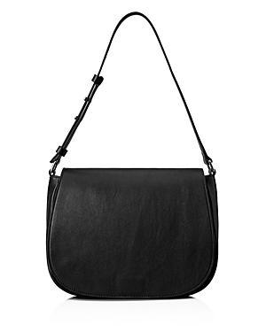 Shinola Flap Leather Shoulder Bag
