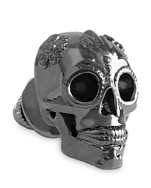 Thompson Of London 3d Candy Skull Tie Pin