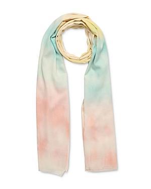 Gerard Darel Iris Tie-dye Cotton Scarf