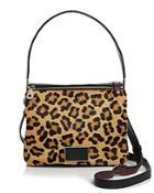 Marc By Marc Jacobs Ligero Leopard Calf Hair Shoulder Bag