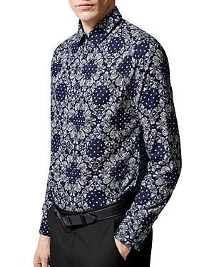 The Kooples Bandana Paisley Regular Fit Shirt