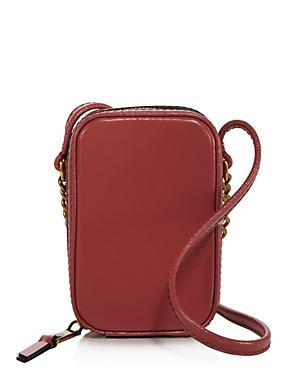 Marc Jacobs The Mini Vanity Leather Crossbody