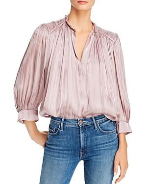 Rebecca Minkoff Billie Pleated Blouse