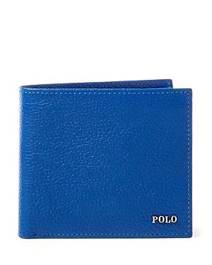 Polo Ralph Lauren Metal Plaque Leather Billfold