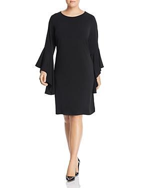 Leota Plus Stella Dramatic Sleeve Dress