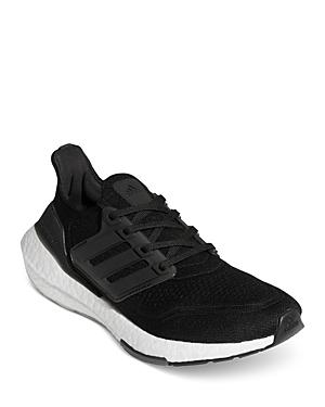 Adidas Women's Ultraboost 21 Knit Fabric Running Sneakers