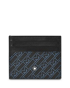 Montblanc M Pattern Leather Card Case
