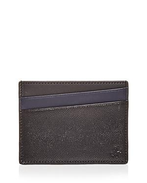 Want Les Essentiels Bransons Color Block Leather Card Case