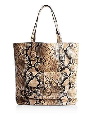 Zadig & Voltaire Kate Snake-print Shopper Tote