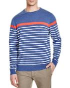Vineyard Vines Placed Stripe Crewneck Sweater
