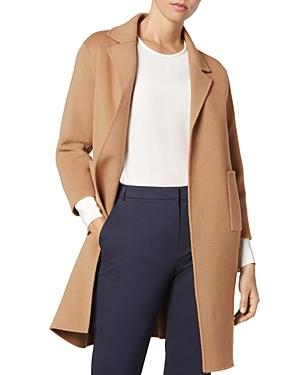 L.k. Bennett Becca Wool & Cashmere Camel Coat