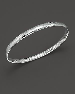 Ippolita Sterling Silver Basic Hammered Bangle
