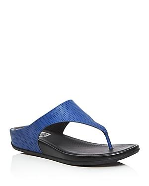 Fitflop Banda Perforated Platform Flip-flops