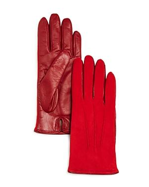 Bloomingdale's Suede Tech Gloves