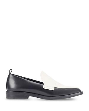 3.1 Phillip Lim Women's Alexa Almond Toe Colorblock Leather Loafers