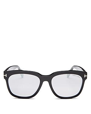 Tom Ford Women's Rhett Mirrored Square Sunglasses, 55mm