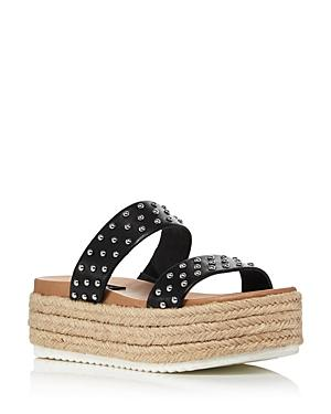 Aqua Women's Ayden Platform Espadrille Slide Sandals - 100% Exclusive