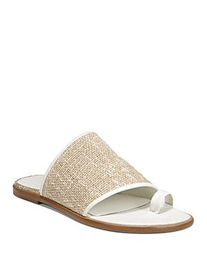 Vince Women's Edan Linen Slide Sandals