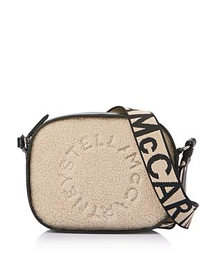 Stella Mccartney Mini Faux Shearling Camera Bag
