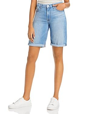 Jen7 By 7 For All Mankind Bermuda Shorts In Laquinta From Providence