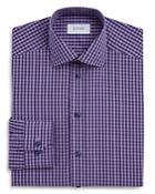 Eton Of Sweden Gingham Regular Fit Dress Shirt