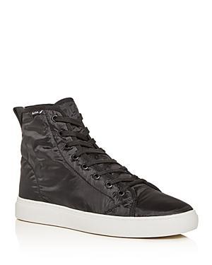 Paul Smith Men's Dreyfuss Nylon High-top Sneakers