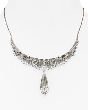 Nadri Gladys Lux Frontal Drop Necklace, 14