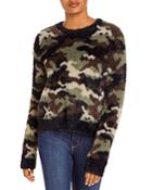 Bella Dahl Camo Print Sweater