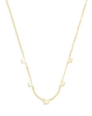 Kendra Scott Lillia Butterfly Station Necklace, 16