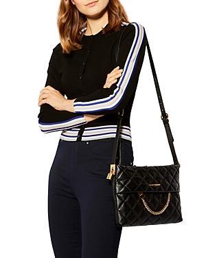 Karen Millen Striped-trim Cardigan