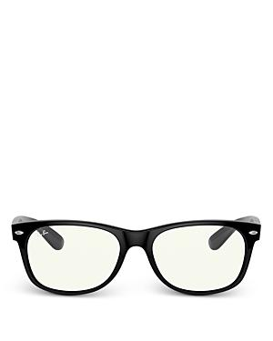 Ray-ban Unisex Square Blue Light Glasses, 54.8mm