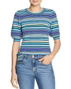 Milly Striped Knit Top