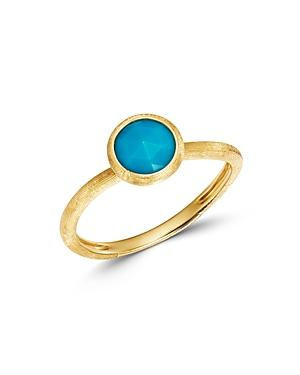 Marco Bicego 18k Yellow Gold Jaipur Color Turquoise Ring