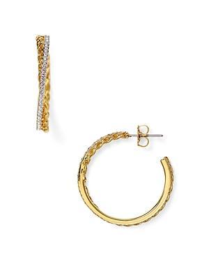 Nadri Honey Hoop Earrings