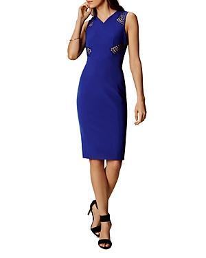 Karen Millen Lace Inset Sheath Dress