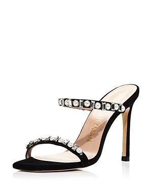 Stuart Weitzman Women's Aleena Embellished High-heel Sandals