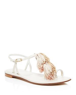 Stuart Weitzman Jabow Tasseled Sandals