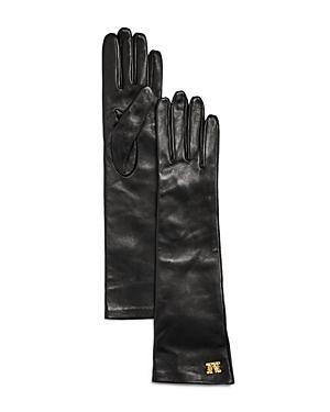 Max Mara Afide Long Leather Gloves