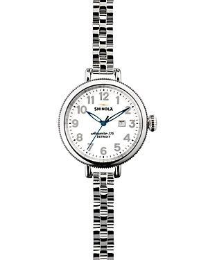 Shinola Stainless Steel Birdy Watch, 34mm