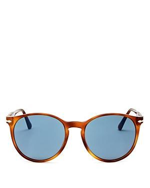 Persol Unisex Round Sunglasses, 53mm
