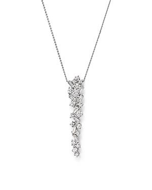 Bloomingdale's Diamond Drop Pendant Necklace In 14k White Gold, 0.50 Ct. T.w. - 100% Exclusive