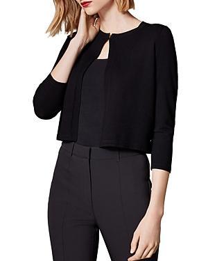 Karen Millen Essential Cropped Cardigan