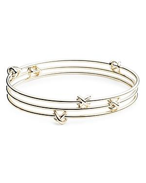Lauren Knot Bangle Bracelets
