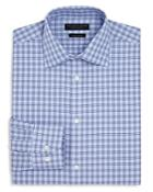 The Men's Store At Bloomingdale's Houndstooth Regular Fit Dress Shirt