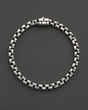 John Hardy Men's Silver Square Link Bracelet